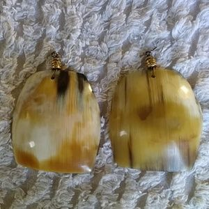 Jewelry - Tiger Eye Cream Color Earrings